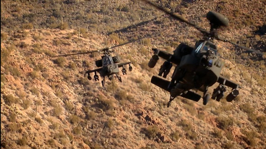 Building The Brand, Apache Attack Copters - Discovery / Sky
